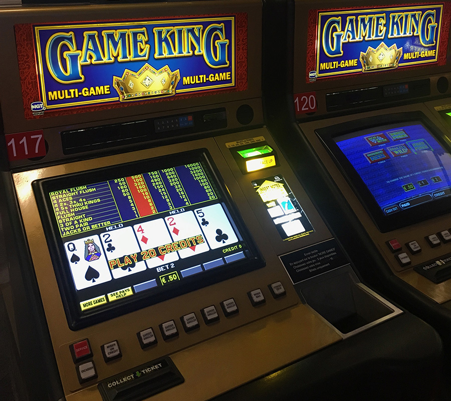 Casino Le Royal video poker