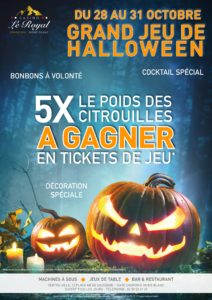 Grand jeu de Halloween casino chamonix jeux