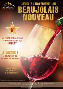 soirée beaujolais nouveau casino chamonix
